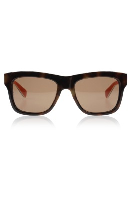 Dolce & Gabbana Multicolor Brown Bluette Sunglasses-1